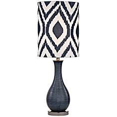 Dimond Hitchin Navy Blue Ceramic Table Lamp