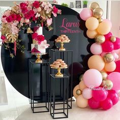 Balloons Garland Arch Kit Hot Pink Balloon Baby Shower Metallic Gold Party Decoration for Birthday Wedding Party Supplies Gold Party Decorations, Graduation Decorations, Balloon Decorations, Birthday Party Decorations, Party Favors, Pink Balloons, Baby Shower Balloons, Birthday Balloons, Balloons Galore