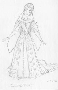 Annyastasia - Royal wedding coronation Queen gown