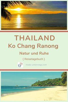 Ko Chang Ranong: Was gibt es auf dieser kleinen und wunderschönen #insel 🏝️ an der Westküste Thailands in der #andamanensee? Natur・#ruhe 🍀・entspannte Atmosphäre 🌞・langsames Tempo.⠀⠀⠀⠀⠀⠀⠀⠀⠀⠀⠀⠀⠀  // #madoreisen #madounterwegs👣 #reisetagebuch #asien #thailand #kochang #ranong #reisetipp #travel #tourismthailand // Werbung, da Firmen-/Marken-/Ort-/Personen-Nennung oder -Verlinkung ohne Auftrag, aber als persönliche Empfehlung // Dienstleistungen/Produkte/Unterkünfte selbst bezahlt // Thailand, Kos, Beach, Outdoor, Travel Scrapbook, Travel Advice, Advertising, Places, Products