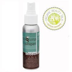 Spray - Natural Body Deodorant (Juniper)