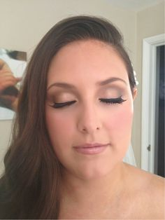 Bridal makeup for sam today in Essex xx