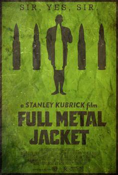 ¡Esto es muy de El Cuartel! Full Metal Jacket Poster. #cine