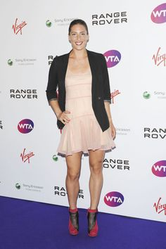Andrea Petkovic Looks - StyleBistro Long Braided Hairstyles, Ancient Chinese Architecture, Coat Shoes, Petkovic, Tennis Players Female, Chinese Garden, 98, Her Hair, Sexy