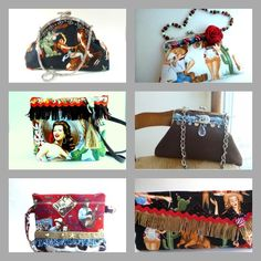 20% OFF Summer Coupon SALE: Use the coupon code 20OFF at checkout.   Western, Rockabilly style Handbags by Anni Leeza on www.boudicabags.etsy.com #rockabilly #handbags #clutches #western #purses