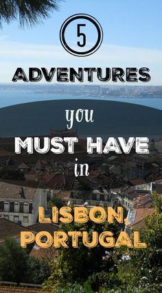 5 Adventures You Must Have in Lisbon, Portugal. Lisbon is a cultural wonder, yet besides fado, street art routes, literature, history and museums, there is also room for adventurous things to do in Lisbon. For its privileged geographical location offers us, adventure lovers, endless interesting activities. Read the full blog post at http://www.divergenttravelers.com/adventure-travel-lisbon-portugal/ #portugaltravel