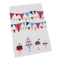 A perfect accessory to any tea-party or summer-do, these festive Linea by Michelle Maison tea towels are the perfect gift for a host - from isyou.in/uk  Pay just £0.51 each when you split the cost between 10 people! #Gift #Gifts #OnlineGift #Presents #Summer #GardenParty #Garden #Patio #Party #Vintage #PatioParty #Festive #Teatowel #Hostess #Host #Cake #Bunting #MichelleMaison