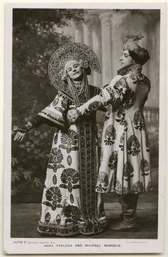 Anna Pavlova and Michael Mordkin, 1909.