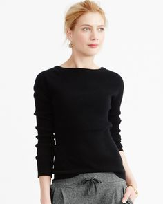 Classic Ribbed Cashmere Sweater - Garnet Hill