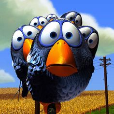 "Pixar short ~ ""For the Birds"""