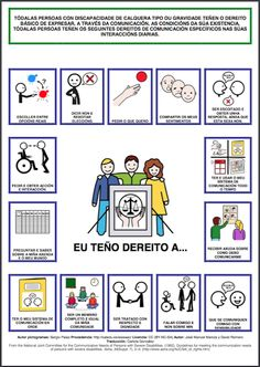 Prohibido non falar: CARTA DE DEREITOS DA COMUNICACIÓN Bill Of Rights, Speech Therapy, Fails, Presentation, The Unit, Feelings, Comics, Sayings, Ideas Para