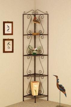 4 Tier Metal Corner Shelf Rack - Coaster 910035 # 910035 # 910035 $79.98 (save $64.23)