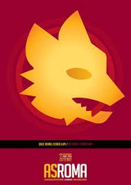 Posters for AS Roma, i Giallorossi, based upon old logos and the year they were founded, As Roma, Pop Art Design, Graphic Design Art, Totti Roma, Old Logo, European History, Poster On, Superhero Logos, Soccer