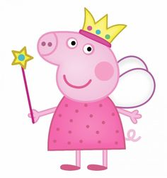 Peppa Pig Clipart in peppa pig clipart png collection - ClipartXtras Tortas Peppa Pig, Bolo Da Peppa Pig, Peppa Pig Birthday Cake, 2nd Birthday, Princess Peppa Pig Party, Special Birthday, Birthday Celebration, Peppa Pig Pictures, Peppa Pig Images