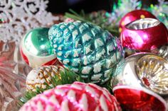 Sherrill Studios - vintage Christmas ornaments