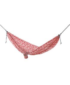Take a look at this Red Floral Ultralight Hammock by Grand Trunk on #zulily today!