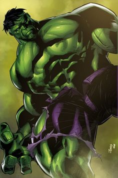 """""""Because you thought you were stronger than the Hulk? No one is stronger than the Hulk! Hulk Marvel, Avengers, Hulk Comic, Marvel Comic Books, Marvel Art, Marvel Characters, Marvel Heroes, Comic Book Heroes, Comic Books Art"""