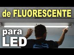 Lâmpada de LED X Fluorescente - Quem esquenta mais? - YouTube