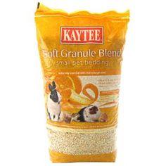 Soft Granule Blend Small Pet Bedding Orange Peel Scent