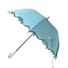 Remedios Boutique Nylon Wedding Umbrella with Scalloped Brown Hem, Sky Blue Remedios Boutique,http://www.amazon.com/dp/B00ACHXVPC/ref=cm_sw_r_pi_dp_Jk84qb0V6APE4Q5M
