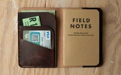 The increasingly popular Field Notes notebooks are becoming an EDC staple thanks to their variety of styles to fit every carry. However, their covers areprone to heavy wear and tear when carried around in a pocket. A leather journal covernot only gives them some much-needed protection, but also extends their utility by providing additional storage for essentials. The Leather Sportsman by MidamMercantilecomes custom-made out of Hermann Oak leather in one of three colors. One side stores…