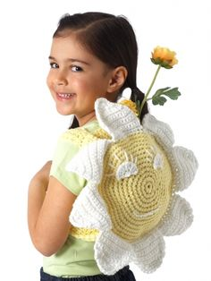 Beautiful springtime bag with a happy sunflower to lift everyone's spirits.