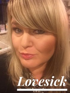 Lashes and Lovesick lip gloss! Younique make up!