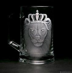 Купить Пивной бокал - Царь, просто Царь, подарок мужчине в интернет магазине на Ярмарке Мастеров