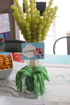 A Little Mermaid Birthday Party for a Sweet Four-Year-Old – Glutton for Chaos