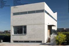 betonnen villa
