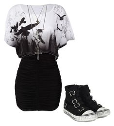 I would totally wear this!! by bvb3666 on Polyvore featuring Ash and GUESS