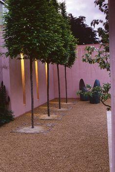 pink courtyard