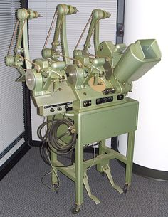 Moviola. Learned to edit on one of these.