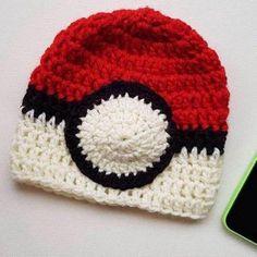 Pokemon Pokeball Beanie Pokemon, Geek Stuff, Beanie, Hats, Clothing, Fashion, Geek Things, Outfits, Moda