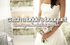 Brides Bouquet. Check.