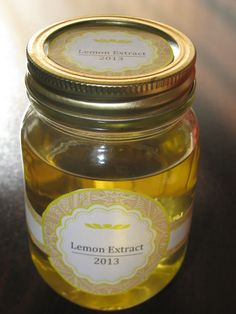 Homemade Citrus Extract  - An easy afternoon project that will save you money and will make great gifts for friends and family. This article also covers why you should make it part of your food storage, and how. Anyone can do this, try it today!