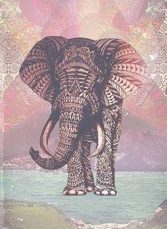 american indian artworks animals elephant tumblr - Google Search