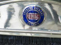 1908 Unic radiator badge