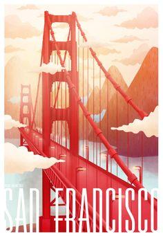 SAN FRANCISCO on Behance