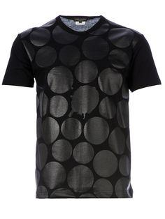 Comme Des Garçons Homme Plus Polka Dot Print T-shirt bought at: Anthem