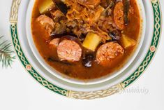 kapustnica Xmas Food, Polish Recipes, Russian Recipes, Pot Roast, Food And Drink, Beef, Ethnic Recipes, Soups, Christmas