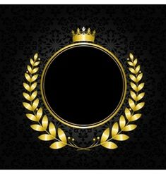 Royal background with a crown and laurel wreath Black Wallpaper For Mobile, Pink Wallpaper Iphone, Icon Design, Logo Design, Green Screen Video Effect, Royal Background, Crown Illustration, Logan, Image Theme