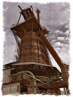 Sloss Furnace, Birmingham, AL. iPhone photo.
