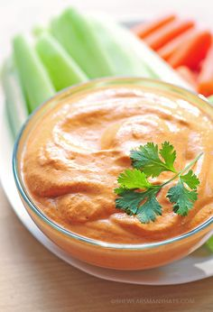 Easy Roasted Red Pepper Dip Recipe