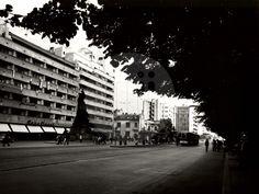 1956 Magheru Bucharest Romania, Old Pictures, Time Travel, Dan, Traveling, Memories, Bucharest, Viajes, Memoirs