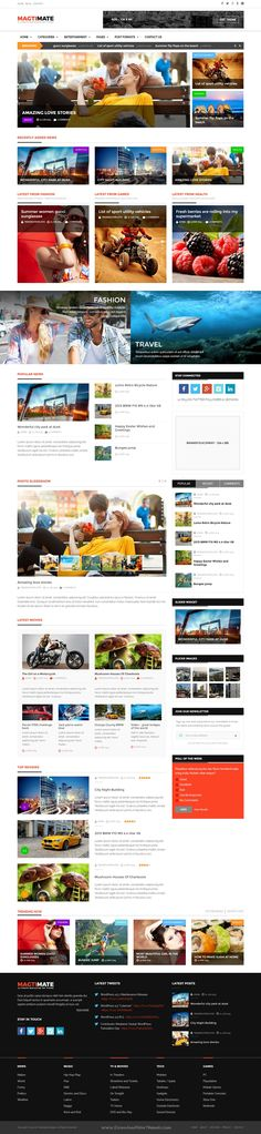 Movie review website template free psd FreedownloadPSD