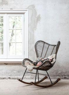 Bali, Rocking Chair, Rattan, Baby Room, Beach House, Modern, Bedroom Ideas, Inspiration, Furniture