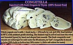 Congetella with recipe