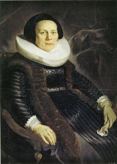 Jacob Backer - Portrait of an Elderly Woman