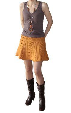 Ravelry: Vitamine C skirt pattern by Tatiana Tatianina